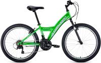 Велосипед Forward Dakota 24 1.0 2021 / RBKW1J14E003 (зеленый/белый) -