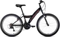 Велосипед Forward Dakota 24 1.0 2021 / RBKW1J14E002 (черный) -