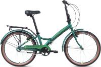 Велосипед Forward Enigma 24 3.0 2021 / 1BKW1C443004 (зеленый матовый/желтый) -