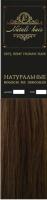 Прядь волос на заколках Flario 17x55 тон 6 (золотисто-русый) -