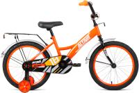 Детский велосипед Forward Altair Kids 18 2021 / 1BKT1K1D1005 (ярко-оранжевый/белый) -