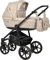 Детская универсальная коляска INDIGO Broco 2 в 1 (Br 02, бежевый) -