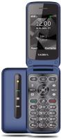 Мобильный телефон Texet TM-408 (синий) -