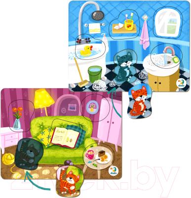 Набор пазлов Dodo Гостиная. Ванная комната