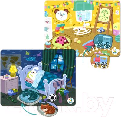 Набор пазлов Dodo Детская комната. Спальня