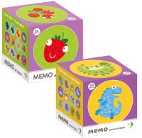 Набор игр Dodo Мемо. Динозаврики. Ягодки -