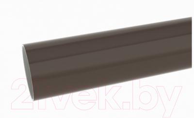 Труба водостока Ruplast 90мм ПВХ RAL 8014