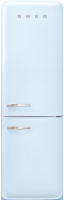 Холодильник с морозильником Smeg FAB32RPB5 -