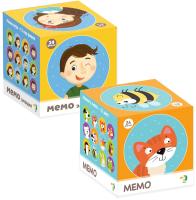 Набор игр Dodo Мемо. Эмоции. Животные -