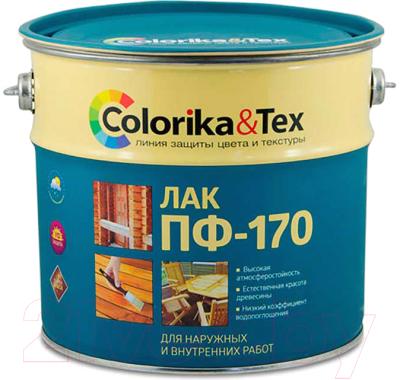 Лак универсальный Colorika & Tex ПФ-170 глянцевый (2.7л)