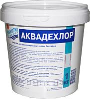 Средство для очистки бассейна Маркопул Кемиклс Аквадехлор в ведре (1кг) -