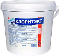 Средство для бассейна дезинфицирующее Маркопул Кемиклс Хлоритекс - ударный хлор гранулы в ведре (4кг) -