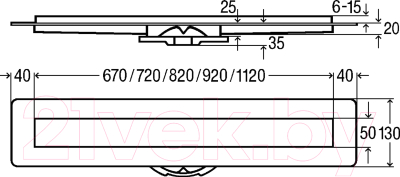 Трап для душа Viega Advantix Basic Set 753153
