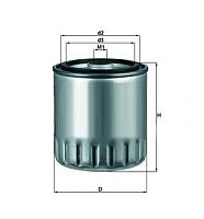 Топливный фильтр Knecht/Mahle KC63/1D -