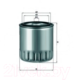Топливный фильтр Knecht/Mahle KC63/1D