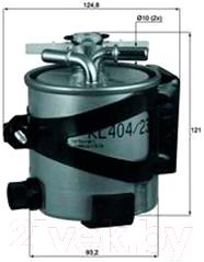 Топливный фильтр Knecht/Mahle KLH44/22