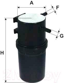 Топливный фильтр Hengst H345WK