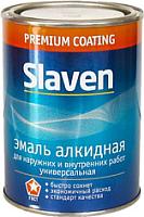 Эмаль Slaven ПФ-115 (20кг, ярко-зеленый) -