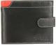 Портмоне Cedar Cavaldi N992L-GDL (черный/красный) -