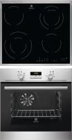 Комплект встраиваемой техники Electrolux OPEA4300X + CEE6432KX -