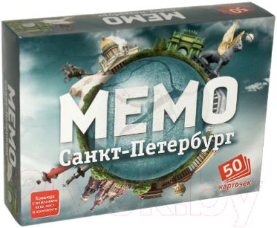 Настольная игра Нескучные игры Мемо Санкт-Петербург / 7201