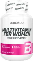 Витаминно-минеральный комплекс BioTechUSA Multivitamin for Women / CIB000460 (60 таблеток) -