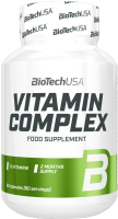 Витаминно-минеральный комплекс BioTechUSA Vitamin Complex / I00005148 (60 таблеток) -