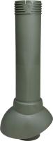 Выход вентиляционный на крышу Vilpe 110/500 RR11 / 741126 (зеленый) -