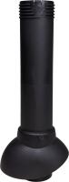 Выход вентиляционный на крышу Vilpe 110/500 RR33 / 74110 (черный) -