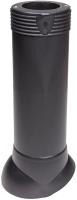 Выход вентиляционный на крышу Vilpe 110/ИЗ/500 RR33 / 74161 (черный) -