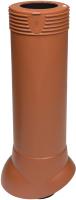 Выход вентиляционный на крышу Vilpe 110/ИЗ/500 RR750 / 741669 (кирпичный) -