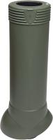 Выход вентиляционный на крышу Vilpe 110/ИЗ/500 RR11 / 741666 (зеленый) -