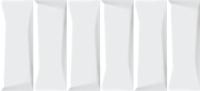 Плитка Cersanit Эволюшн Кирпичи Рельеф (200x440, белый) -