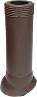 Выход вентиляционный на крышу Vilpe 110/ИЗ/500 RR32 / 741664 (коричневый) -