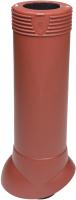 Выход вентиляционный на крышу Vilpe 110/ИЗ/500 RR29 / 741668 (красный) -