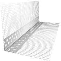 Уголок штукатурный Ecotex А-022-18.5-2500-75 с сеткой -