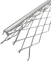 Уголок штукатурный Ecotex 34мм (3м) -