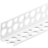 Уголок штукатурный Ecotex ПВХ перфорированный (3м) -