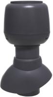 Выход вентиляционный на крышу Vilpe С колпаком 110/200 / 741317 (серый) -