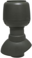 Выход вентиляционный на крышу Vilpe С колпаком 110/200 / 741316 (зеленый) -