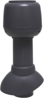 Выход вентиляционный на крышу Vilpe С колпаком 110/300/Н / 741307 (серый) -