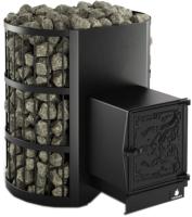 Печь-каменка Kronos Колизей 24 ВЧЧ (с чугунной топкой) -