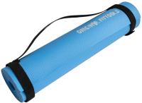 Коврик для йоги и фитнеса Original FitTools Ganga FT-MPM6LTB (голубой) -