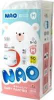 Подгузники-трусики детские NAO M / 5-10кг (50шт) -