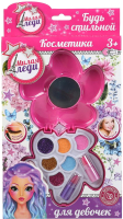 Набор детской декоративной косметики Милая Леди Тени для век и помада / 10123B2-ML -