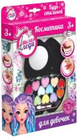 Набор детской декоративной косметики Милая Леди Тени для век, блеск для губ / J520A-BK -