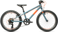 Детский велосипед Cube Acid 200 2021 (серый/оранжевый) -