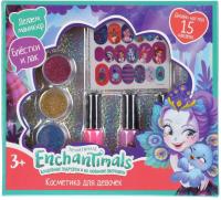 Набор детской декоративной косметики Милая Леди Энчантималс: набор для маникюра / B1410572-R -