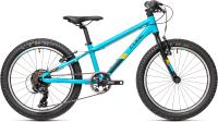 Детский велосипед Cube Acid CMPT 200 2021 (голубой/оранжевый) -
