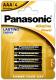 Комплект батареек Panasonic Alkaline Power LR03/4BL (4шт) -